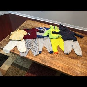 Lots of clothes for toddler boy sizes 6 m to 2t